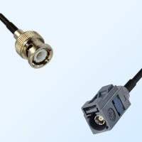 Fakra G 7031 Grey Female - BNC Male Coaxial Cable Assemblies