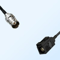 Fakra A 9005 Black Female - BNC Female Coaxial Cable Assemblies