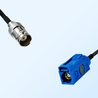 Fakra C 5005 Blue Female - BNC Female Coaxial Cable Assemblies