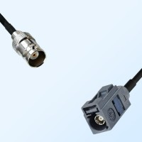 Fakra G 7031 Grey Female - BNC Female Coaxial Cable Assemblies