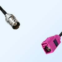 Fakra H 4003 Violet Female - BNC Female Coaxial Cable Assemblies