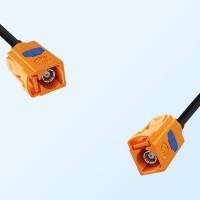 Fakra M 2003 Orange Female Fakra M 2003 Orange Female Cable