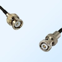 BNC Male - MHV Male Coaxial Jumper Cable