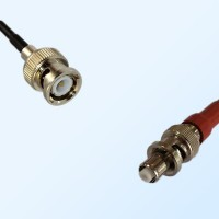 BNC Male - SHV Male Coaxial Jumper Cable