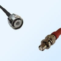 HN Male - SHV Male Coaxial Jumper Cable
