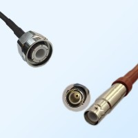 HN Male - SHV Female Coaxial Jumper Cable