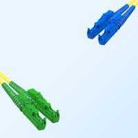 E2000 E2000/APC Duplex Jumper Cable OS2 9/125 Singlemode