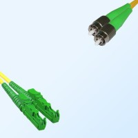 FC/APC E2000/APC Duplex Jumper Cable OS2 9/125 Singlemode