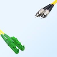 FC E2000/APC Duplex Jumper Cable OS2 9/125 Singlemode