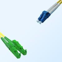 LC E2000/APC Duplex Jumper Cable OS2 9/125 Singlemode