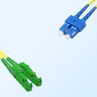 SC E2000/APC Duplex Jumper Cable OS2 9/125 Singlemode