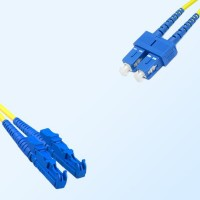 SC E2000 Duplex Jumper Cable OS2 9/125 Singlemode