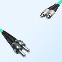 FC SMA905 Duplex Jumper Cable OM3 50/125 Multimode