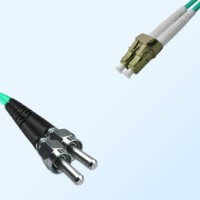 LC SMA905 Duplex Jumper Cable OM4 50/125 Multimode