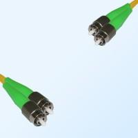 FC/APC FC/APC Duplex Jumper Cable OS2 9/125 Singlemode