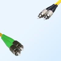 FC FC/APC Duplex Jumper Cable OS2 9/125 Singlemode