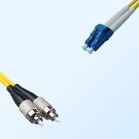 LC FC Duplex Jumper Cable OS2 9/125 Singlemode