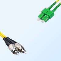 SC/APC FC Duplex Jumper Cable OS2 9/125 Singlemode