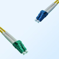 LC LC/APC Duplex Jumper Cable OS2 9/125 Singlemode