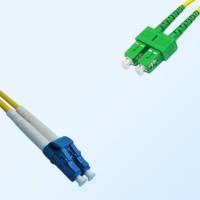 SC/APC LC Duplex Jumper Cable OS2 9/125 Singlemode