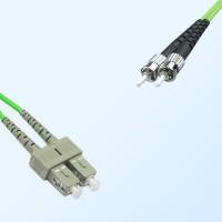 ST SC Duplex Jumper Cable OM5 50/125 Multimode