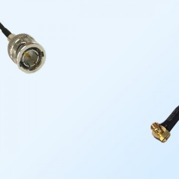 75Ohm BNC Male - MCX Male Right Angle Cable Assemblies