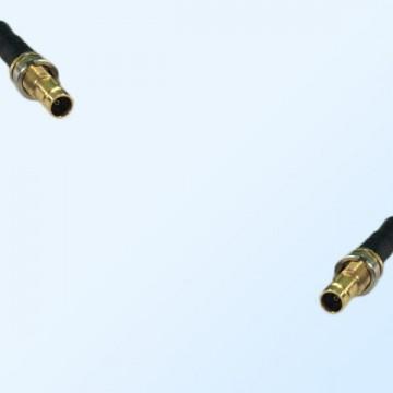 75Ohm 1.0/2.3 DIN B/H Female to 1.0/2.3 DIN B/H Female Jumper Cable