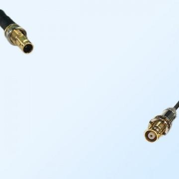 75Ohm 1.0/2.3 DIN B/H Female to 1.6/5.6 DIN B/H Female Jumper Cable