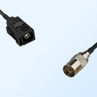 75Ohm Fakra A Female - DVB-T TV Female Cable Assemblies