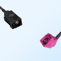 75Ohm Fakra A Female - Fakra H Female Right Angle Cable Assemblies