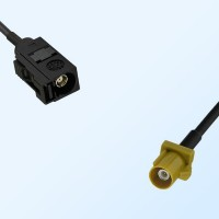 75Ohm Fakra A Female - Fakra K Male Cable Assemblies