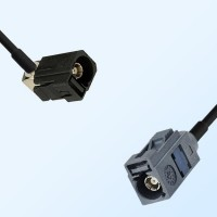 75Ohm Fakra A Female Right Angle - Fakra G Female Cable Assemblies