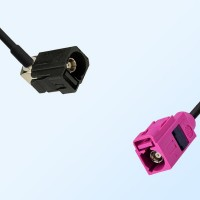 75Ohm Fakra A Female Right Angle - Fakra H Female Cable Assemblies