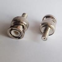 BNC Male to QMA Female RF Adapter