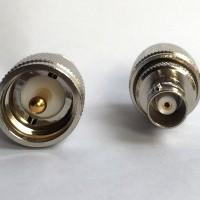 BNC Female to UHF Male RF Adapter