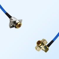 BMA Female 2 Hole - BMA Female R/A 2 Hole Semi-Flexible Cable