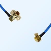 MCX Male R/A - BMA Female R/A 2 Hole Semi-Rigid Cable Assemblies