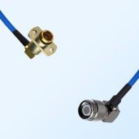TNC Male R/A - BMA Female R/A 2 Hole Semi-Rigid Cable Assemblies
