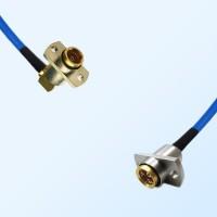 BMA Female R/A 2 Hole - BMA Female 2 Hole Semi-Flexible Cable
