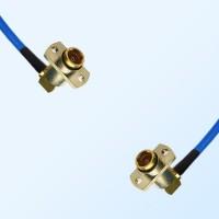 BMA Female R/A 2 Hole - BMA Female R/A 2 Hole Semi-Flexible Cable