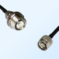 7/16 DIN Bulkhead Female with O-Ring - N Male Coaxial Jumper Cable