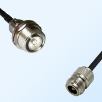 7/16 DIN Bulkhead Female with O-Ring - N Female Coaxial Jumper Cable