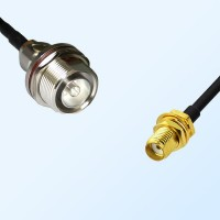 7/16 DIN Bulkhead Female with O-Ring - SMA Bulkhead Female Cable