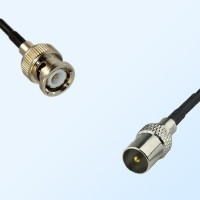 BNC Male - DVB-T TV Male Coaxial Cable Assemblies