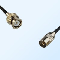 BNC Male - DVB-T TV Female Coaxial Cable Assemblies
