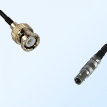 BNC Male - LEMO FFA 00S Male Coaxial Cable Assemblies