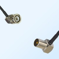 BNC Male R/A - DVB-T TV Male R/A Coaxial Cable Assemblies
