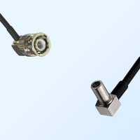 BNC Male Right Angle - MS147 Male Right Angle Coaxial Cable Assemblies