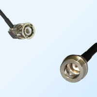 BNC Male Right Angle - QN Male Coaxial Cable Assemblies