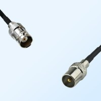 BNC Female - DVB-T TV Male Coaxial Cable Assemblies